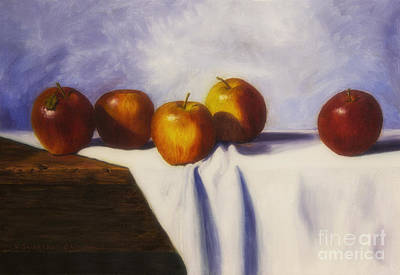 Organic Painting - Autumn Harvest by Veikko Suikkanen