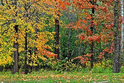 Autumn Landscape Print by Frozen in Time Fine Art Photography