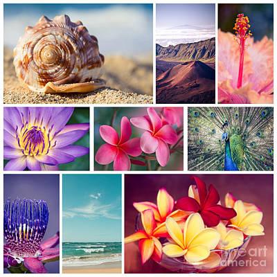 Awakening In Paradise Print by Sharon Mau
