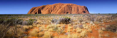 Kata Photograph - Ayers Rock, Uluru-kata Tjuta National by Panoramic Images
