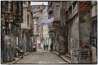 Mess Photograph - Back Street by Joan Carroll