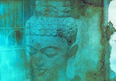 Bali Digital Art - Balinese God Statue by Modern Art Prints