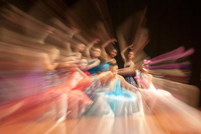 Ballet Print by Okan YILMAZ