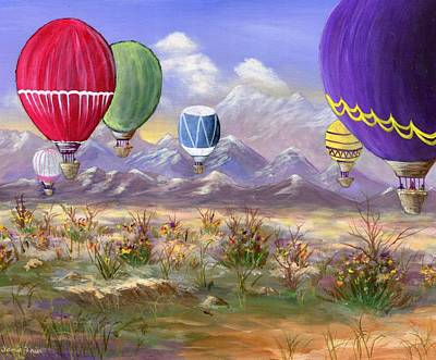 Balloons Print by Jamie Frier
