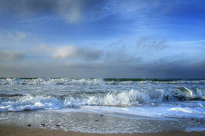 Lightning D Photograph - Baltic Sea by Steffen Gierok