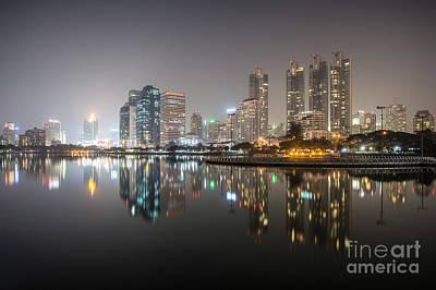 Thailand Photograph - Bangkok By Night by Matteo Colombo