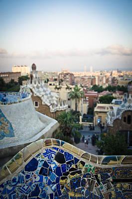 Ceramics Photograph - Barcelona  by Mesha Zelkovich