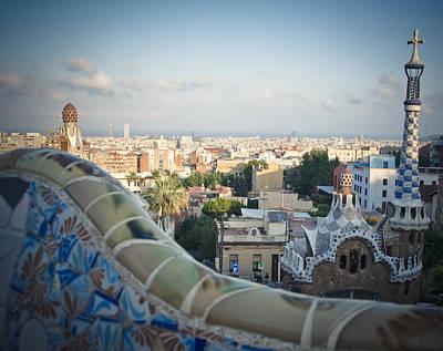 Contemporary Ceramics Photograph - Barcelona Spain by Mesha Zelkovich