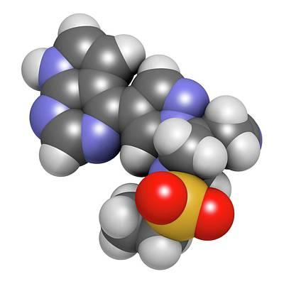 Jak Photograph - Baricitinib Janus Kinase Inhibitor Drug by Molekuul
