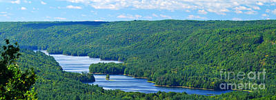 Barkhamsted Reservoir Print by HD Connelly