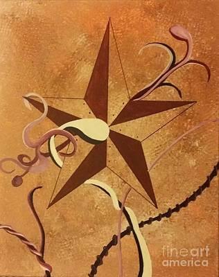 Barn Stars Print by Ems Colon