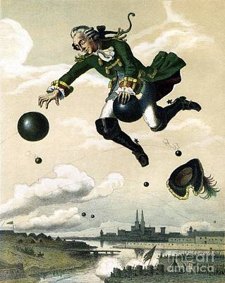 Baron Munchausen  Print by Celestial Images