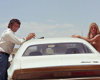 Barry Newman In Vanishing Point  Print by Silver Screen