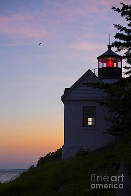Bass Harbor Photograph - Bass Harbor Lighthouse by Diane Diederich