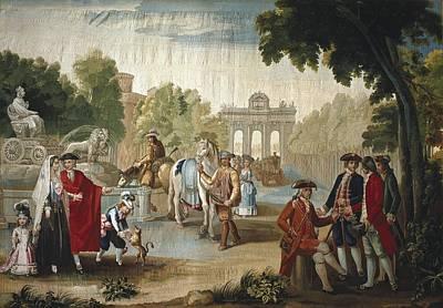 Tapestries Textiles Photograph - Bayeu Y Subias, Ram�n 1746-1793 by Everett