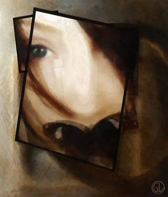 Woman Digital Art - Be Silent by Gun Legler