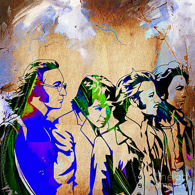 Harrison Mixed Media - Beatles Collection by Marvin Blaine