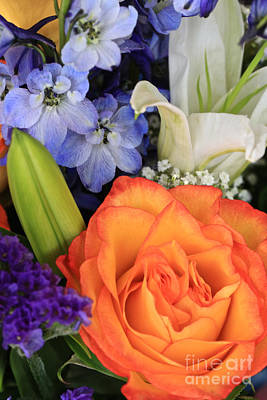 Special Occasion Photograph - Beautiful Bouquet by Carol Groenen