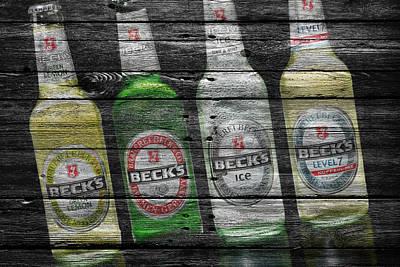 Hop Photograph - Becks by Joe Hamilton