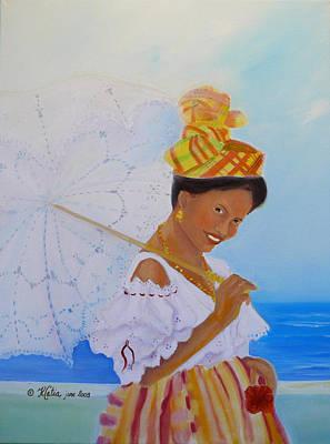 Belle Creole Original by Katia Creole Art