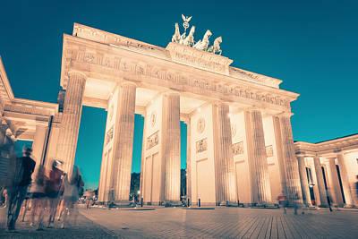Berlin Photograph - Berlin - Brandenburg Gate by Alexander Voss