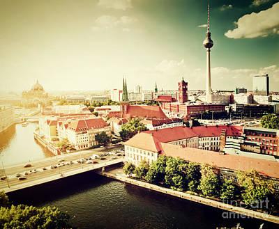 Hall Photograph - Berlin Germany View On Major Landmarks by Michal Bednarek