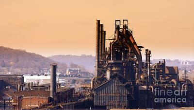 Bethlehem Steel Print by Marcia Lee Jones