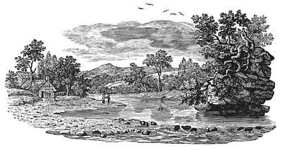 Bewick Landscape Print by Granger