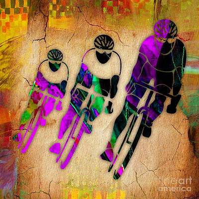 Bicycle Mixed Media - Bicycle Art by Marvin Blaine