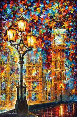 Big Ben Original by Leonid Afremov