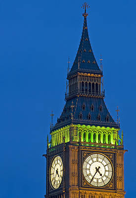 Catherine Middleton Photograph - Big Ben London by Matthew Gibson