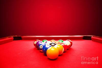 Goal Photograph - Billards Pool Game by Michal Bednarek