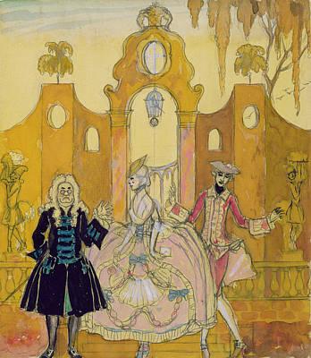 'billet Doux'  Print by Georges Barbier