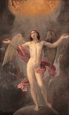 Guido Reni Painting - Blessed Soul by Guido Reni