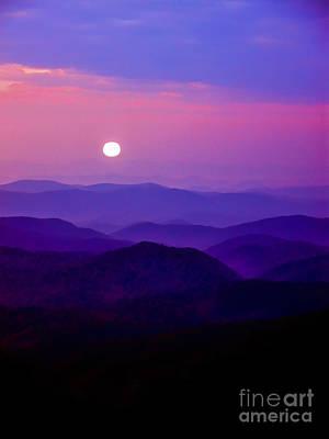 North Carolina Sunrise Digital Art - Blue Ridge Sunrise by Thomas R Fletcher
