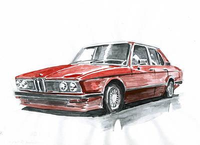 Auto Painting - Bmw E12 by Ildus Galimzyanov