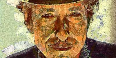 Bob Dylan Digital Art - Bob Dylan by Carol Sullivan