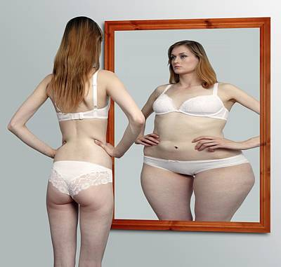 Mental Photograph - Body Dysmorphia by Victor De Schwanberg
