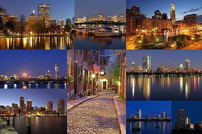 Custom House Tower Print featuring the photograph Boston Skyline Photography by Juergen Roth