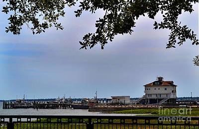 Charleston Photograph - Boyces Wharf Charleston by Amy Lucid