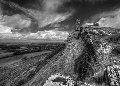 Brentor Photograph - Brentor Church by Graham Moore