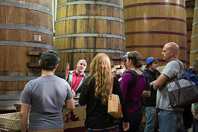 Fort Collins Photograph - Brewery Tour by Jim West