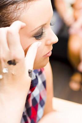 Bridal Eyelashes Print by Jorgo Photography - Wall Art Gallery