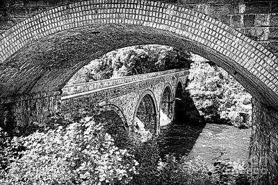 Bridge Under A Bridge Print by Jane Rix