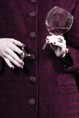 Edgy Photograph - Broken Glass by Joana Kruse
