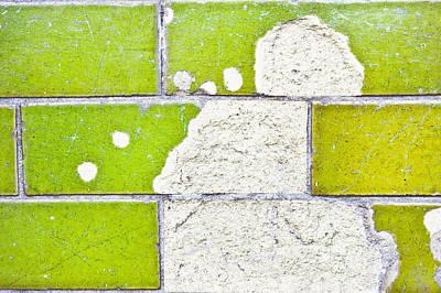 Continuity Photograph - Broken Tiles by Tom Gowanlock