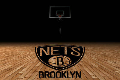 Brooklyn Nets Print by Joe Hamilton