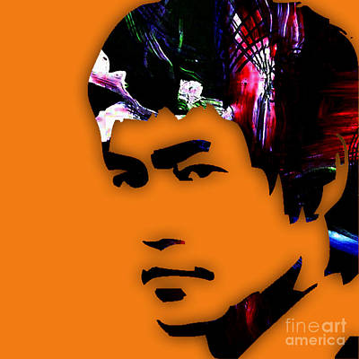 Karate Mixed Media - Bruce Lee Collection by Marvin Blaine