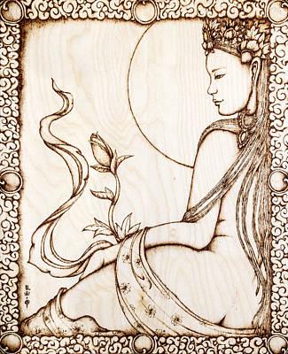 Budding Beauty Print by Nozomi Takeyabu