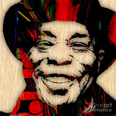 Rock Mixed Media - Buddy Guy Collection by Marvin Blaine